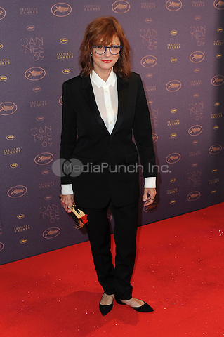 Susan Sarandon at the Opening Gala Dinner during The 69th Annual Cannes Film Festival on May 11, 2016 in Cannes, France.<br /> CAP/LAF<br /> &copy;Lafitte/Capital Pictures /MediaPunch ***NORTH AND SOUTH AMERICAN SALES ONLY***