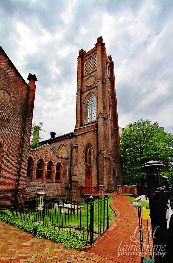 Baltimore's Westminster Hall and Burying Ground, home of Edgar Allen Poe's resting place.