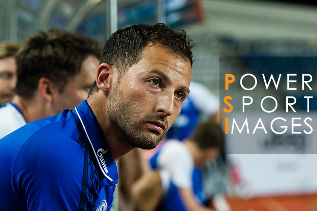 FC Schalke Head Coach Domenico Tedesco during the Friendly Football Matches Summer 2017 between FC Schalke 04 Vs Besiktas Istanbul at Zhuhai Sport Center Stadium on July 19, 2017 in Zhuhai, China. Photo by Marcio Rodrigo Machado / Power Sport Images