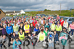 WALKERS: On their marks and go were the large crowd who showed up to support the Fenit 10k walk on Friday for the Kerry Hospice Foundation...