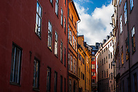 Buildings in Gamla stan - Street scenes from Stockholm