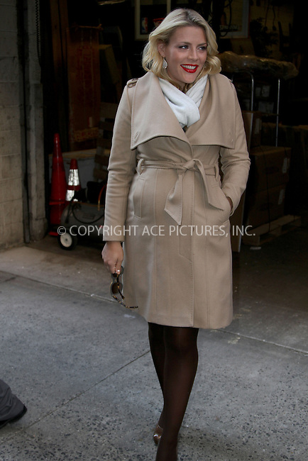 WWW.ACEPIXS.COM......January 8, 2012, New York City, NY.....Busy Philipps leaving Live with Kelly and Michael on January 8, 2013 in New York City.........By Line: Zelig Shaul/ACE Pictures....ACE Pictures, Inc..Tel: 646 769 0430..Email: info@acepixs.com