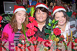 rish Collins, Mary McAulliffe and Caroline O'Connor enjoying their day at the Asdee Christmas fair on Sunday...   Copyright Kerry's Eye 2008