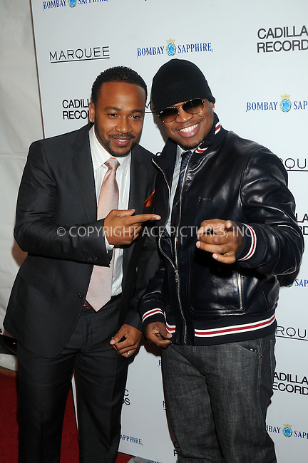 WWW.ACEPIXS.COM . . . . .  ....December 1 2008, New York City....Columbus Short and Rapper Ne-Yo at the premiere of 'Cadillac Records' at the AMC Loews 19th Street theatre on December 1, 2008 in New York City.....Please byline: KRISTIN CALLAHAN - ACEPIXS.COM.... *** ***..Ace Pictures, Inc:  ..te: (646) 769 0430..e-mail: info@acepixs.com..web: http://www.acepixs.com