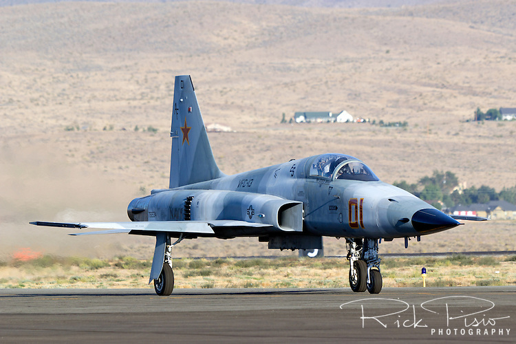 F-5E Tiger II of VFC 13 based in Fallon, Nevada.