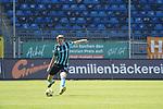 Florian Flick am Ball beim Spiel in der 3. Liga, SV Waldhof Mannheim - FSV Zwickau.<br /> <br /> Foto © PIX-Sportfotos *** Foto ist honorarpflichtig! *** Auf Anfrage in hoeherer Qualitaet/Aufloesung. Belegexemplar erbeten. Veroeffentlichung ausschliesslich fuer journalistisch-publizistische Zwecke. For editorial use only. DFL regulations prohibit any use of photographs as image sequences and/or quasi-video.