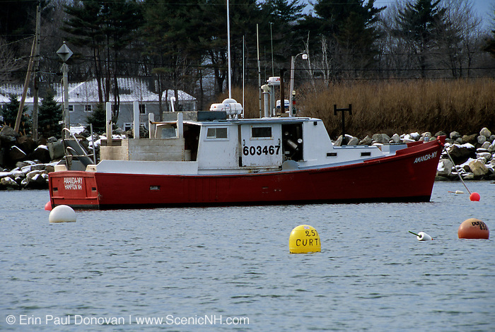 Rye Harbor, New Hampshire USA, which is part of the New England seacoast
