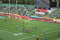 Kenya v Samoa. Day one of the 2018 HSBC World Sevens Series Hamilton at FMG Stadium in Hamilton, New Zealand on Saturday, 3 February 2018. Photo: Dave Lintott / lintottphoto.co.nz