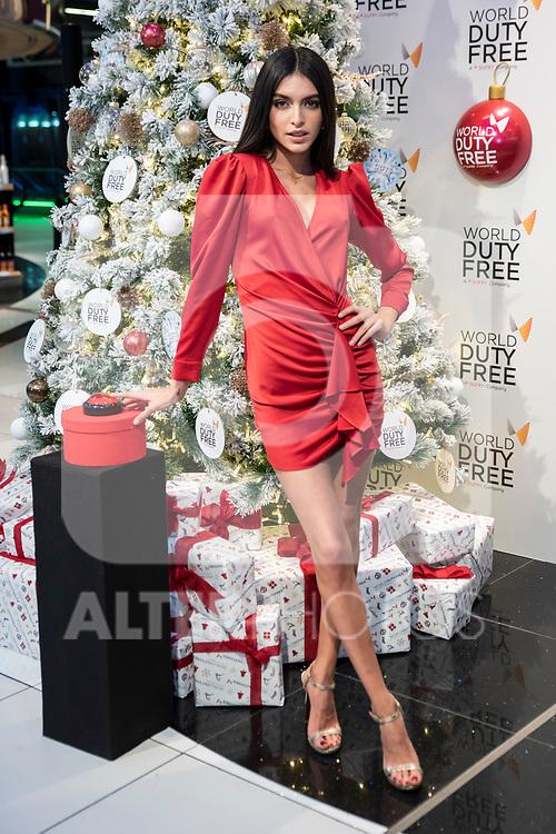 Lucia Rivera lights up Christmas at world duty free at Madrid airport<br /> December  4, 2019. <br /> (ALTERPHOTOS/David Jar)