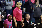 19 February 2015: UNC head coach Sylvia Hatchell. The University of North Carolina Tar Heels hosted the Wake Forest University Demon Deacons at Carmichael Arena in Chapel Hill, North Carolina in a 2014-15 NCAA Division I Women's Basketball game.