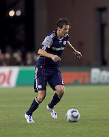New England Revolution midfielder Marko Perovic (29). In a Major League Soccer (MLS) match, Real Salt Lake defeated the New England Revolution, 2-0, at Gillette Stadium on April 9, 2011.