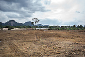Acres of land that housed the pig farms are were abandoned after the Nipah virus are cleared for development in Ipoh, Perak, Malaysia on October 15th, 2016. <br /> In September 1998, a virus among pig farmers (associated with a high mortality rate) was first reported in the state of Perak in Malaysia. Dr. Chua investigated and discovered the virus and it was later named, Nipah Virus. The outbreak in Malaysia was controlled through the culling of &gt;1 million pigs.