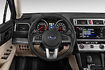 Car pictures of steering wheel view of a 2015 Subaru Outback 2.5i CVT 4 Door Wagon Steering Wheel