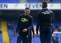 Ipswich Town's Andre Dozzell during the pre-match warm-up <br /> <br /> Photographer Hannah Fountain/CameraSport<br /> <br /> The EFL Sky Bet Championship - Ipswich Town v Birmingham City - Saturday 13th April 2019 - Portman Road - Ipswich<br /> <br /> World Copyright © 2019 CameraSport. All rights reserved. 43 Linden Ave. Countesthorpe. Leicester. England. LE8 5PG - Tel: +44 (0) 116 277 4147 - admin@camerasport.com - www.camerasport.com
