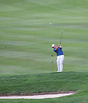 Chad Chapbell swings during the Barracuda Championship PGA golf tournament at Montrêux Golf and Country Club in Reno, Nevada on Friday, July 26, 2019.