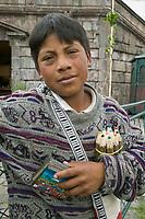 Street vendor, Quito, Ecuador