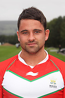 PICTURE BY IAN LOVELL/WRL...Rugby League - Wales Rugby League Headshots 2011 - 21/10/11...Wales Lee Williams.