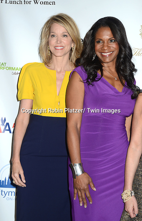 Paula Zahn and Audra McDonald  attends the 26th Annual Citymeals-on-Wheels Power Lunch for Women on November 16, 2012 at The Plaza Hotel in New York City. The honorees were Paula Zahn and Randi and Dennis Riese.