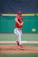 Philadelphia Phillies pitcher Nick Lackney (99) during an Instructional League game against the Toronto Blue Jays on September 23, 2019 at Spectrum Field in Clearwater, Florida.  (Mike Janes/Four Seam Images)