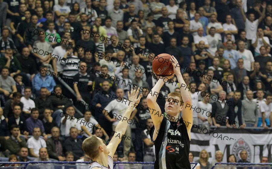 Kosarka Euroleague season 2012-2013.Partizan Vs. Lietuvos Rytas.Davis Bertans.Beograd, 29.11.2012..foto: Srdjan Stevanovic/Starsportphoto ©