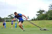 Max Lahiff of Bath Rugby in action. Bath Rugby training session on August 4, 2015 at Farleigh House in Bath, England. Photo by: Patrick Khachfe / Onside Images