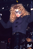 CRIMSON GLORY - vocalist Midnight - performing live at the Metal Hammer Festival at Westfalenhalle Dortmund Germany - 30 Apr 1989.  Photo credit: George Chin/IconicPix