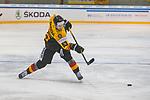 15.04.2018, EnergieVerbund Arena, Dresden, GER, Euro Hockey Challenge, Deutschland vs. Slowakei, im Bild<br /> <br /> <br /> Simon Sezemsky (#53, Deutschland), <br /> <br /> Foto &copy; nordphoto / Dostmann