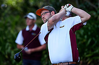 Tyler McLean of Southland. Day One of the Toro Interprovincial Men's Championship, Mangawhai Golf Club, Mangawhai,  New Zealand. Tuesday 5 December 2017. Photo: Simon Watts/www.bwmedia.co.nz