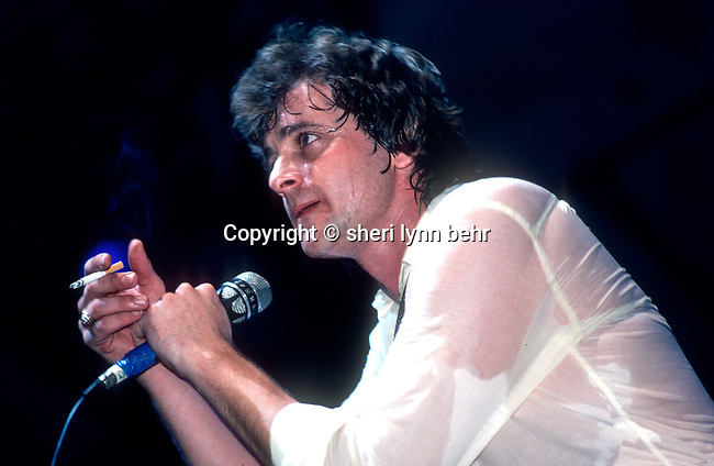 Eddie Money onstage at the Dr. Pepper Music Festival in July, 1980