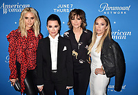 LOS ANGELES, CA - MAY 31: (L-R) Dorit Kemsley, Kyle Richards, Lisa Rinna, Teddi Mellencamp Arroyave attends the 'American Woman' premiere party at Chateau Marmont on May 31, 2018 in Los Angeles, California.<br /> CAP/ROT/TM<br /> &copy;TM/ROT/Capital Pictures