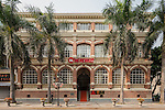 Office building at No. 48 South Street, Shamian (Shameen) Island, Guangzhou (Canton). Built in 1881 with two floors, the third was added in the early 1900s.