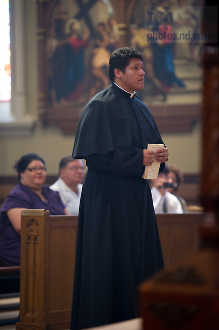 2010 C.S.C. Final Vows, Paul Ybarra..Photo by Matt Cashore/University of Notre Dame