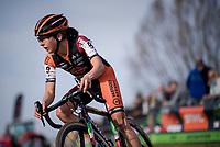 Jolien Verschueren (BEL/Pauwels sauzen-Vastgoedservice)<br /> <br /> Women's race<br /> Koppenbergcross / Belgium 2017
