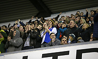 Blackburn fans<br /> <br /> Photographer Rob Newell/CameraSport<br /> <br /> The EFL Sky Bet Championship - Millwall v Blackburn Rovers - Saturday 12th January 2019 - The Den - London<br /> <br /> World Copyright &copy; 2019 CameraSport. All rights reserved. 43 Linden Ave. Countesthorpe. Leicester. England. LE8 5PG - Tel: +44 (0) 116 277 4147 - admin@camerasport.com - www.camerasport.com