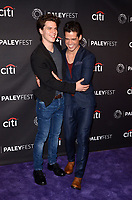 "LOS ANGELES - SEP 10:  Gus Halper, Miles Gaston Villanueva at the ""The Menendez Murders"" at the 11th PaleyFest Fall TV Previews at the Paley Center for Media on September 10, 2017 in Beverly Hills, CA"