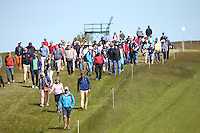 Gallery down the 8th during Round Two of the 2015 Nordea Masters at the PGA Sweden National, Bara, Malmo, Sweden. 05/06/2015. Picture David Lloyd | www.golffile.ie