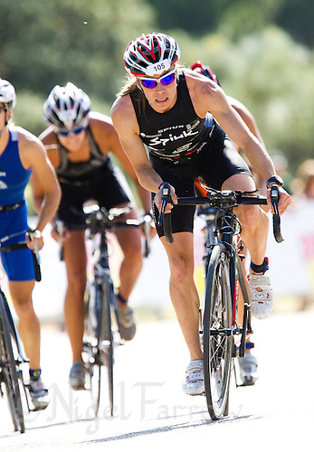 06 JUN 2010 - MADRID, ESP - Helena Herrero Gomez - Spanish Elite Triathlon Championships (PHOTO (C) NIGEL FARROW)