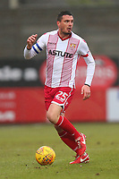 Ron Henry of Stevenage during Stevenage vs Luton Town, Sky Bet EFL League 2 Football at the Lamex Stadium on 10th February 2018