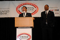DC United owners William H. C. Chang and Victor MacFarlane. DC United 4th Annual Awards Reception honoring player achievements for the 2007 season took place  at the Ronald Reagan Building in Washington, DC on October 22, 2007.