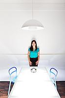 Tan Le pictures: executive portrait photography of Tan Le of Emotiv Lifesciences, by San Francisco corporate photographer Eric Millette