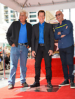 Jay Leno, Jeff Dunham, Howie Mandel at the Hollywood Walk of Fame Star Ceremony honoring ventriloquist Jeff Dunham, Los Angeles, USA 21 Sept. 2017<br /> Picture: Paul Smith/Featureflash/SilverHub 0208 004 5359 sales@silverhubmedia.com