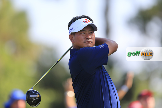 KJ Choi (KOR) during round 1of the Players, TPC Sawgrass, Championship Way, Ponte Vedra Beach, FL 32082, USA. 12/05/2016.<br /> Picture: Golffile | Fran Caffrey<br /> <br /> <br /> All photo usage must carry mandatory copyright credit (&copy; Golffile | Fran Caffrey)