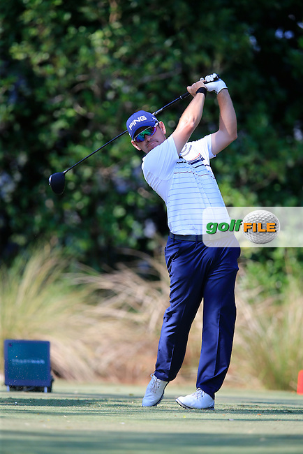 Louis Oosthuizen (RSA) during round 1of the Players, TPC Sawgrass, Championship Way, Ponte Vedra Beach, FL 32082, USA. 12/05/2016.<br /> Picture: Golffile | Fran Caffrey<br /> <br /> <br /> All photo usage must carry mandatory copyright credit (&copy; Golffile | Fran Caffrey)