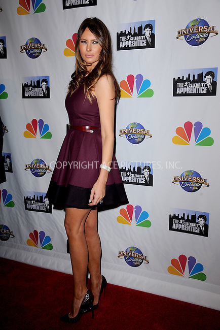 WWW.ACEPIXS.COM<br /> February 16, 2015 New York City<br /> <br /> Melania Trump arriving to the Celebrity Apprentice Finale viewing party and post show red carpet on February 16, 2015 in New York City.<br /> <br /> Please byline: Kristin Callahan/AcePictures<br /> <br /> ACEPIXS.COM<br /> <br /> Tel: (646) 769 0430<br /> e-mail: info@acepixs.com<br /> web: http://www.acepixs.com