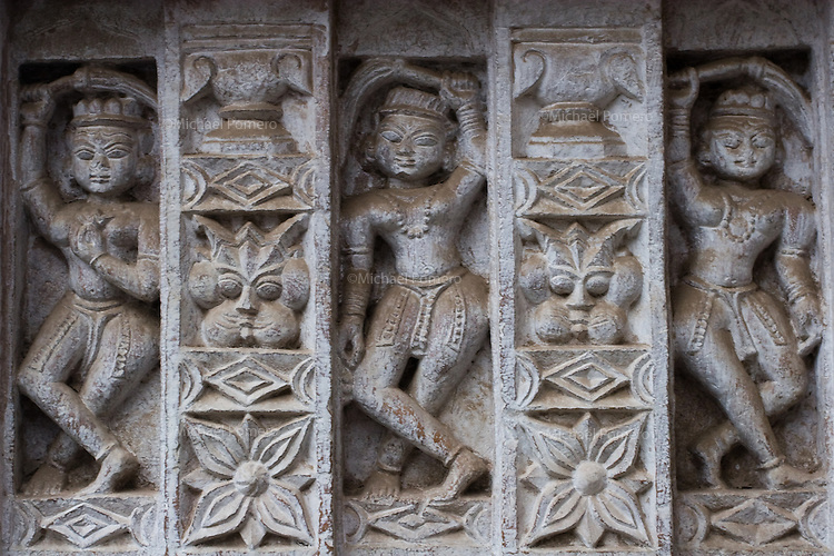 23.11.2010 Bundi (Rajasthan)<br /> <br /> Carving in a temple.<br /> <br /> Sculpture dans un temple.