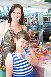 Jenny and Jessica Sullivan at the Food Festival on West Street...Picture Jenny Matthews/Newsfile.ie