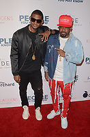 LOS ANGELES, CA - NOVEMBER 13: Usher and Jermaine Dupri at People You May Know at The Pacific Theatre at The Grove in Los Angeles, California on November 13, 2017. <br /> CAP/MPI/DE<br /> &copy;DE/MPI/Capital Pictures