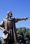 Porto Seguro, Bahia State, Brazil. Statue of Pedro Alvarez Cabral.