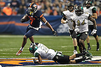SAN ANTONIO, TX - NOVEMBER 26, 2016: The University of Texas at San Antonio Roadrunners defeat the University of North Carolina at Charlotte 49ers 33-14 at the Alamodome. (Photo by Jeff Huehn)