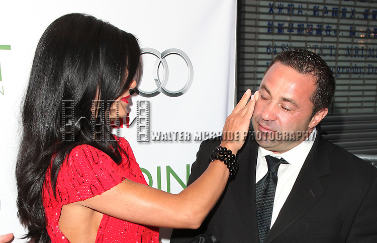 Teresa Giudice &  Joe Giudice .attending the Point Foundation's Fourth Annual Gala - Point Honors New York in New York City.